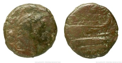 925PO – Quadrans Pompeia – Sextus Pompeius Faustulus