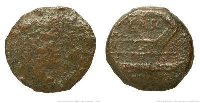 1054PO – Quadrans Porcia – Caius Porcius Cato