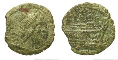 910VA – Quadrans Valeria – Caius Valerius Flaccus