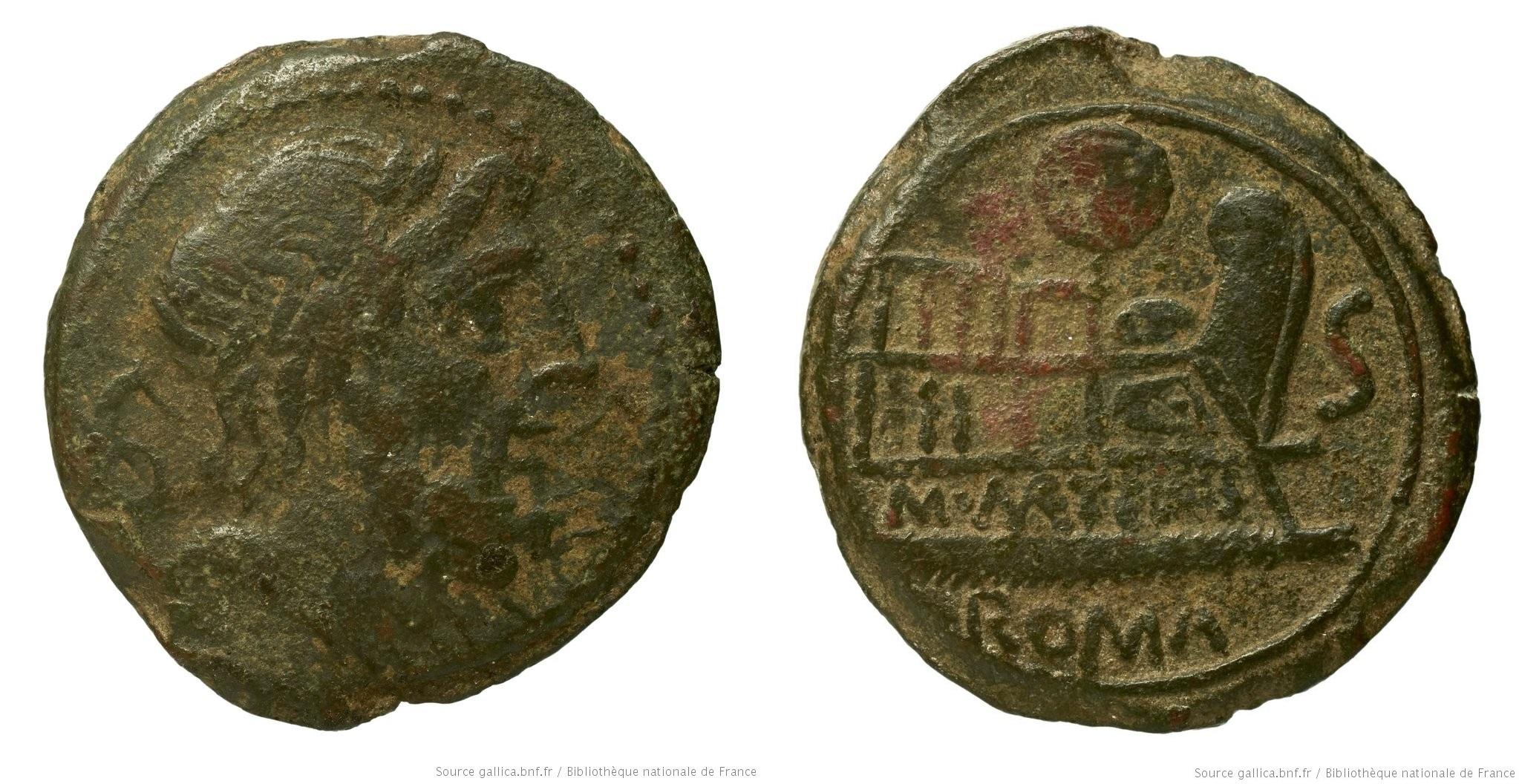 1021CA – Semis Caecilia – Marcus Cæcilius Metellus