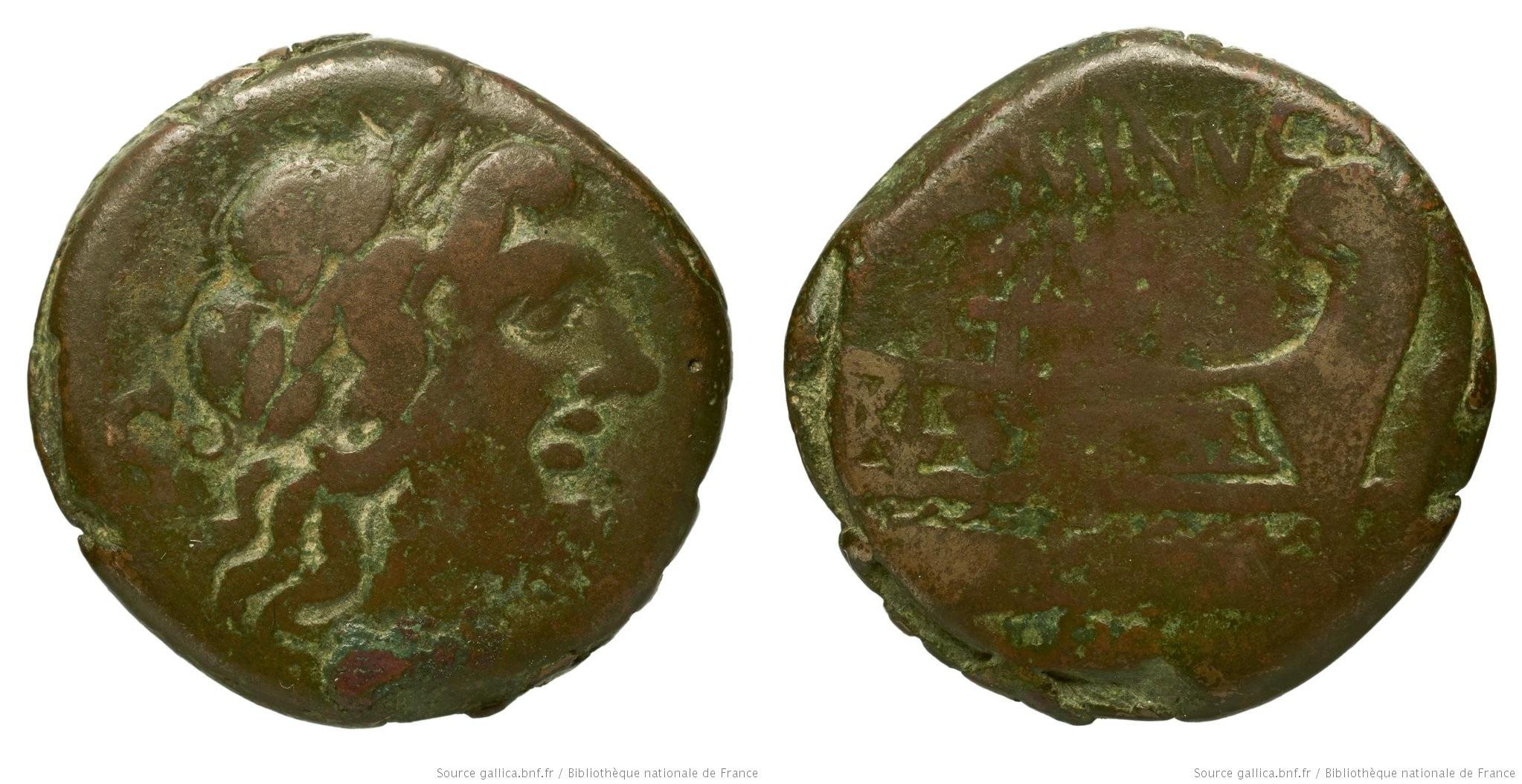 974MI – Semis Minucia – Lucius Minucius