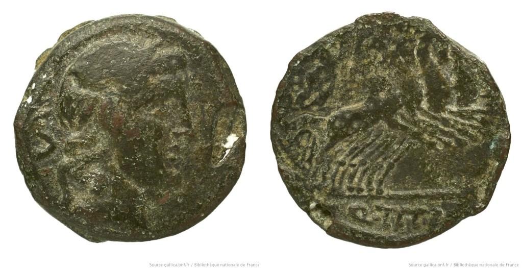 1216TI – Semis Titia – Quintus Titius