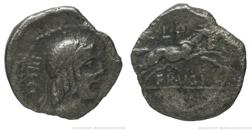 1207CA – Sesterce Calpurnia – Lucius Calpurnius Piso Frugi