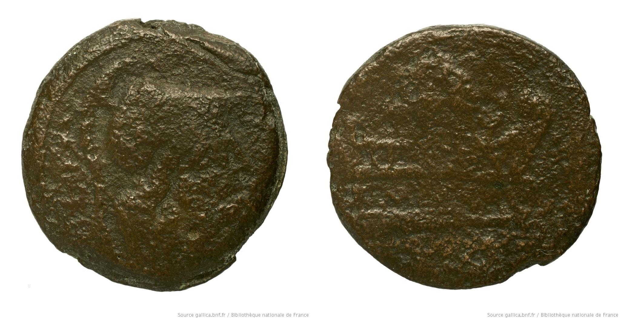 You are currently viewing 1042CA – Triens Caecilia – Caius Cæcilius Metellus Caprarius