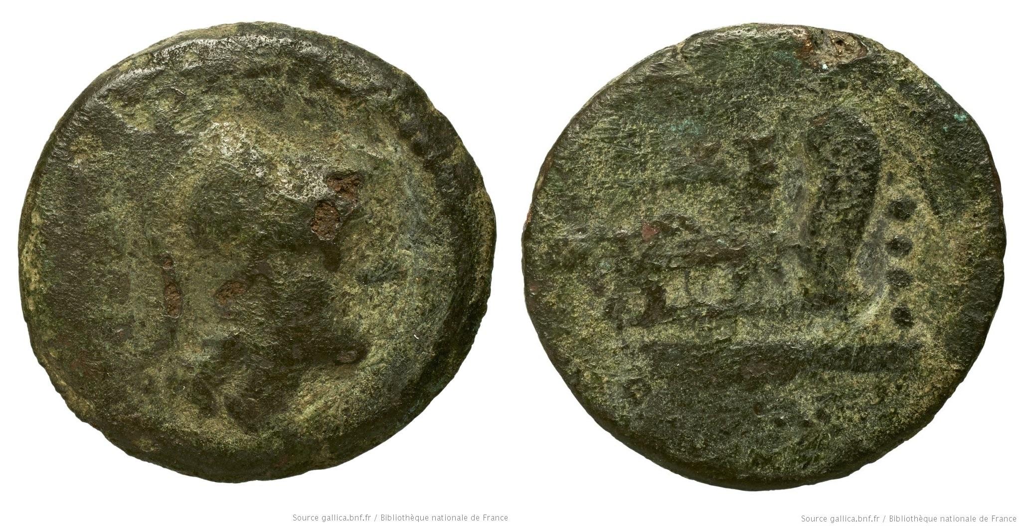1000CA – Triens Caecilia – Quintus Cæcilius Metellus