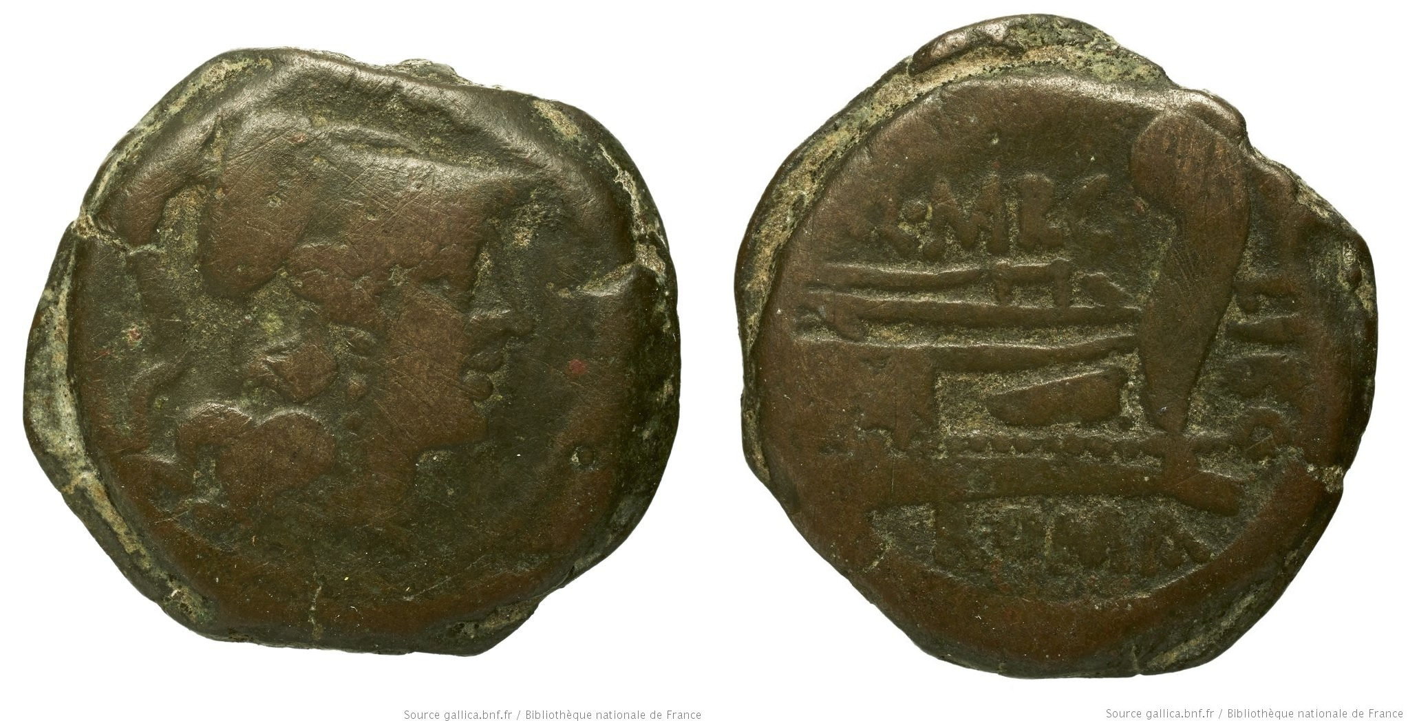 You are currently viewing 874MA – Triens Marcia – Quintus Marcius Libo