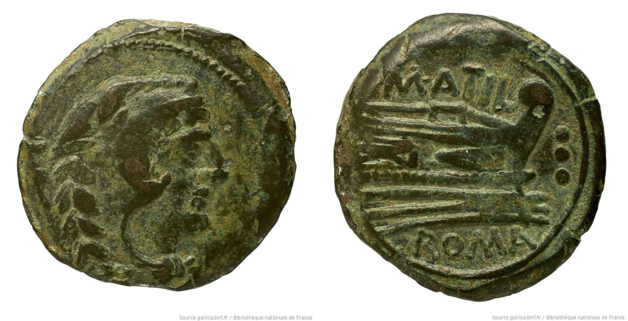 868AT – Quadrans Atilia – Marcus Atilius Saranus