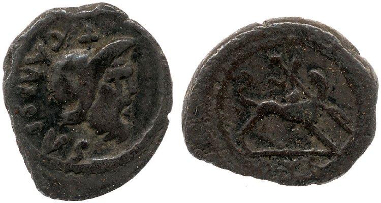 1481CA – Sesterce Carisia – Titus Carisius