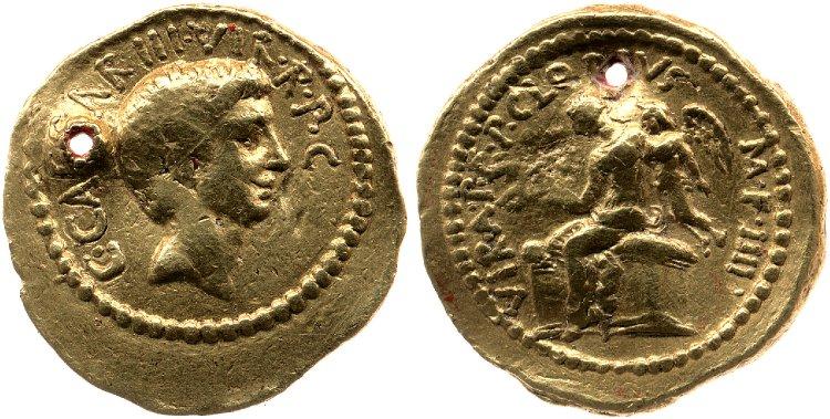 1584JU – Aureus Octave – Publius Clodius
