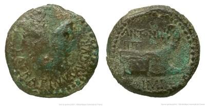 1724AN – As Marc Antoine _ Lucius Sempronius Atratinus