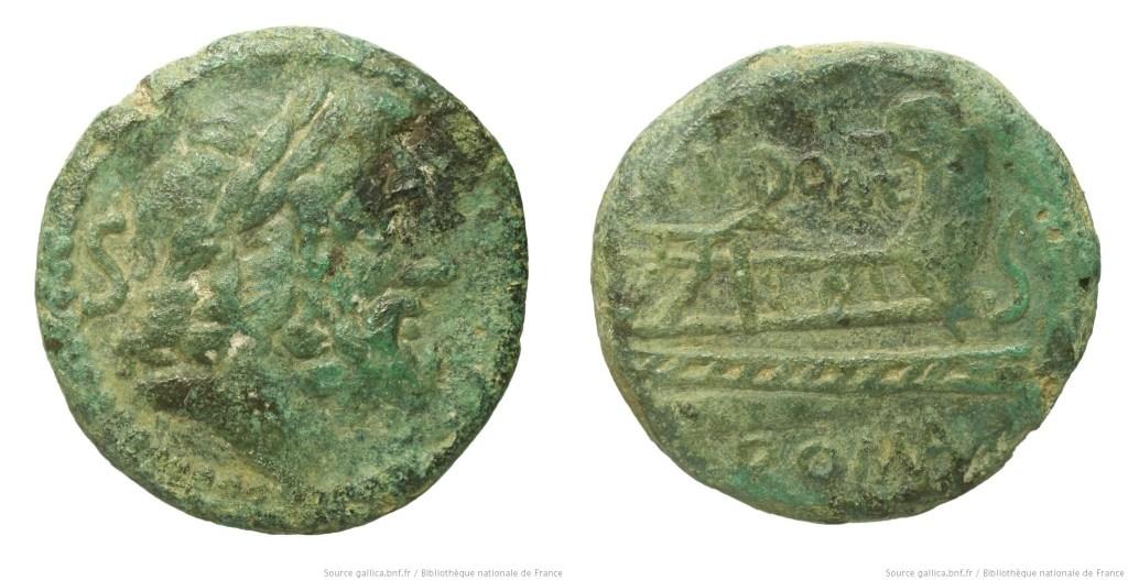 Read more about the article 1011DO – Semis Domitia – Cnæus Domitius Ahenobarbus