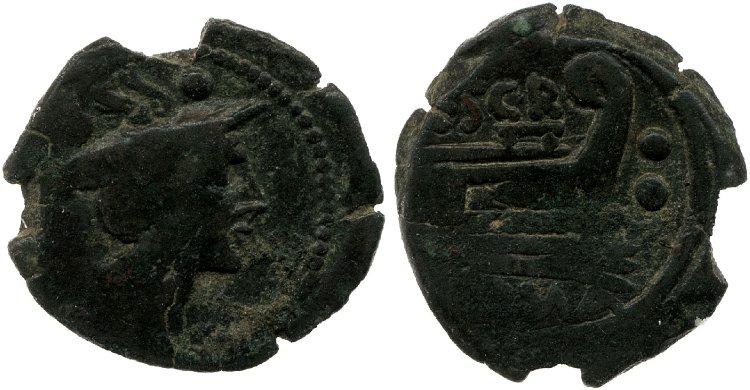 818SC – Sextans Scribonia – Caius Scribonius