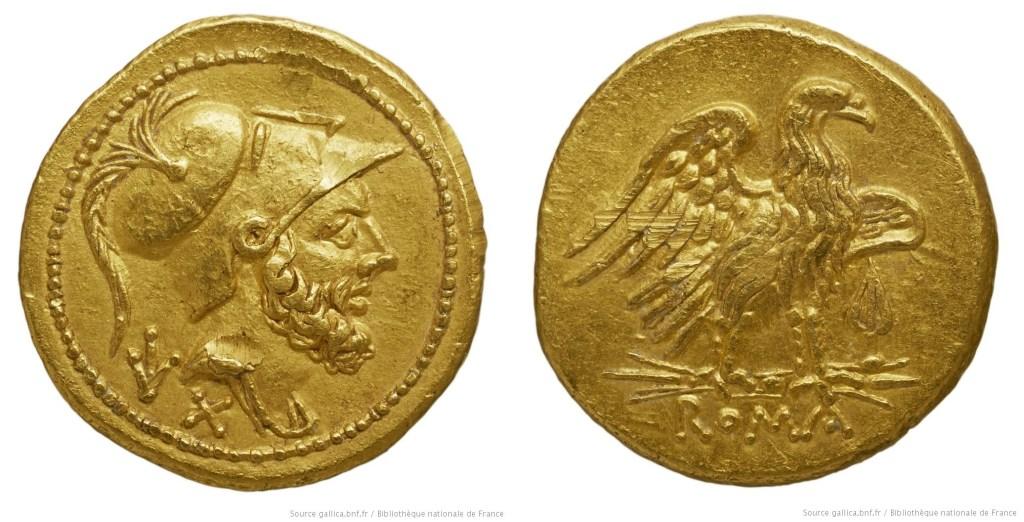 340AN – Aureus de 60as Anonyme
