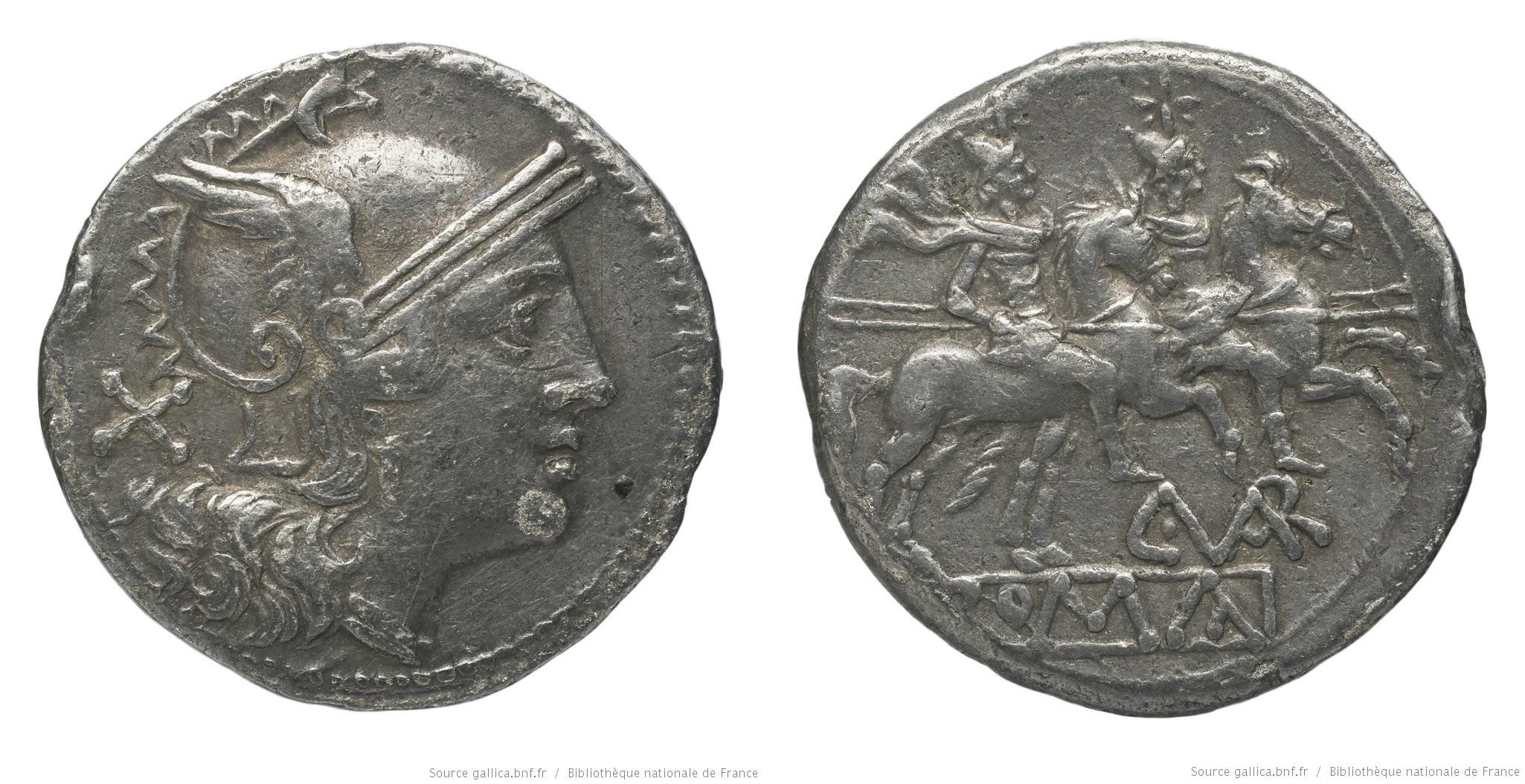 291TE – Denier Terentia – Caius Terentius Varro