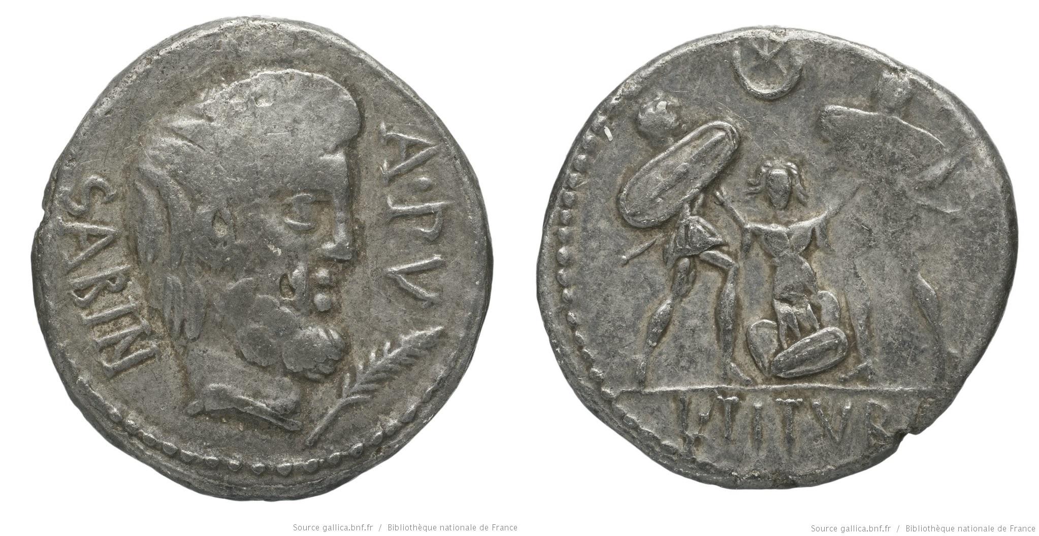 You are currently viewing 1235TI – Denier Tituria – Lucius Titurius Sabinus