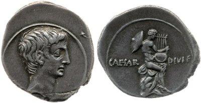 Read more about the article 2010AU – Denier Octave – Caius Julius Cæsar Octavianus