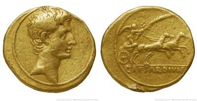 2013AU – Aureus Octave – Caius Julius Cæsar Octavianus