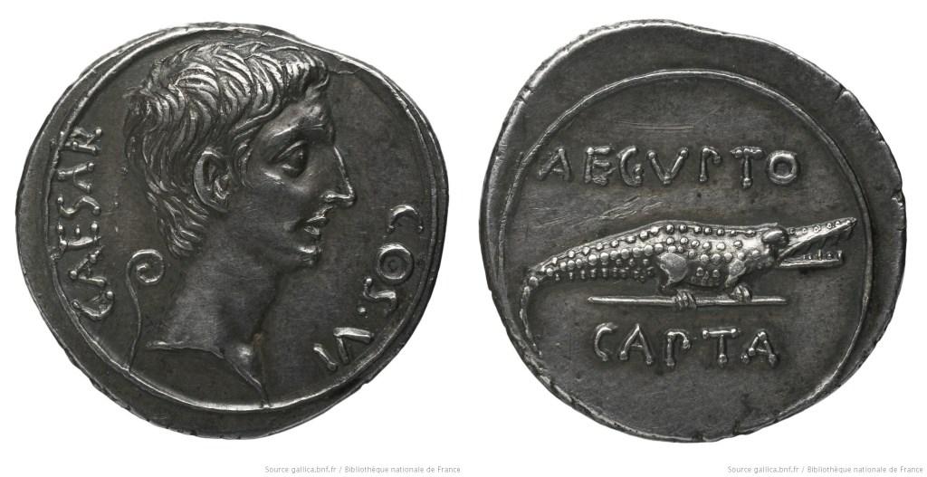 2031AU – Denier Octave – Caius Julius Cæsar Octavianus