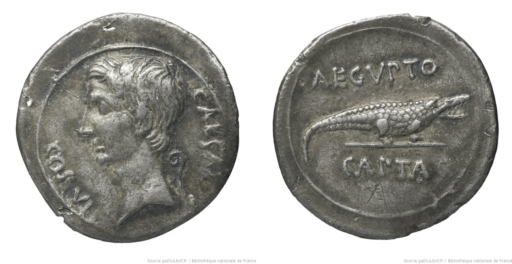 You are currently viewing 2032AU – Denier Octave – Caius Julius Cæsar Octavianus