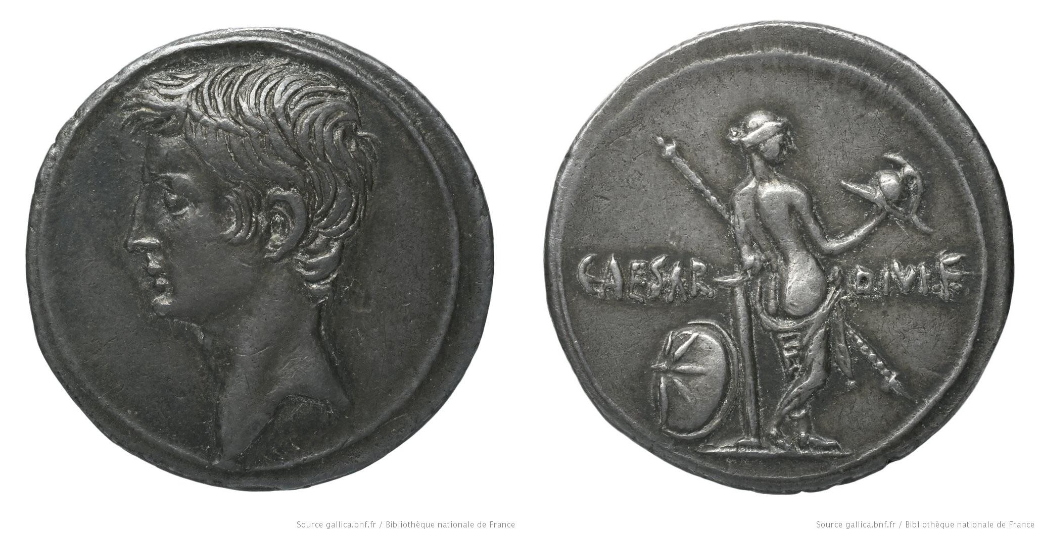 You are currently viewing 2001AU – Denier Octave – Caius Julius Cæsar Octavianus