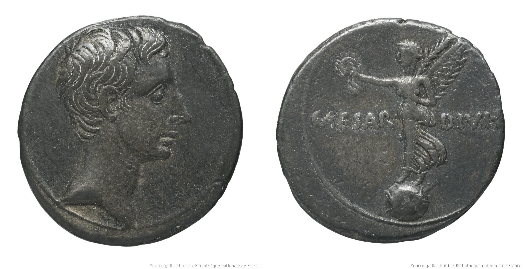 2006AU – Denier Octave – Caius Julius Cæsar Octavianus