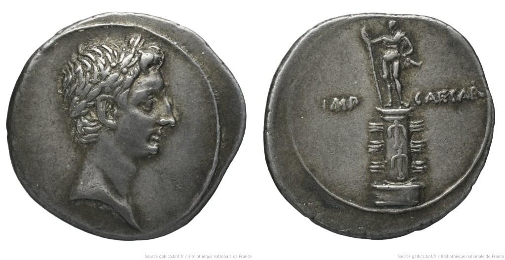 2026AU – Denier Octave – Caius Julius Cæsar Octavianus