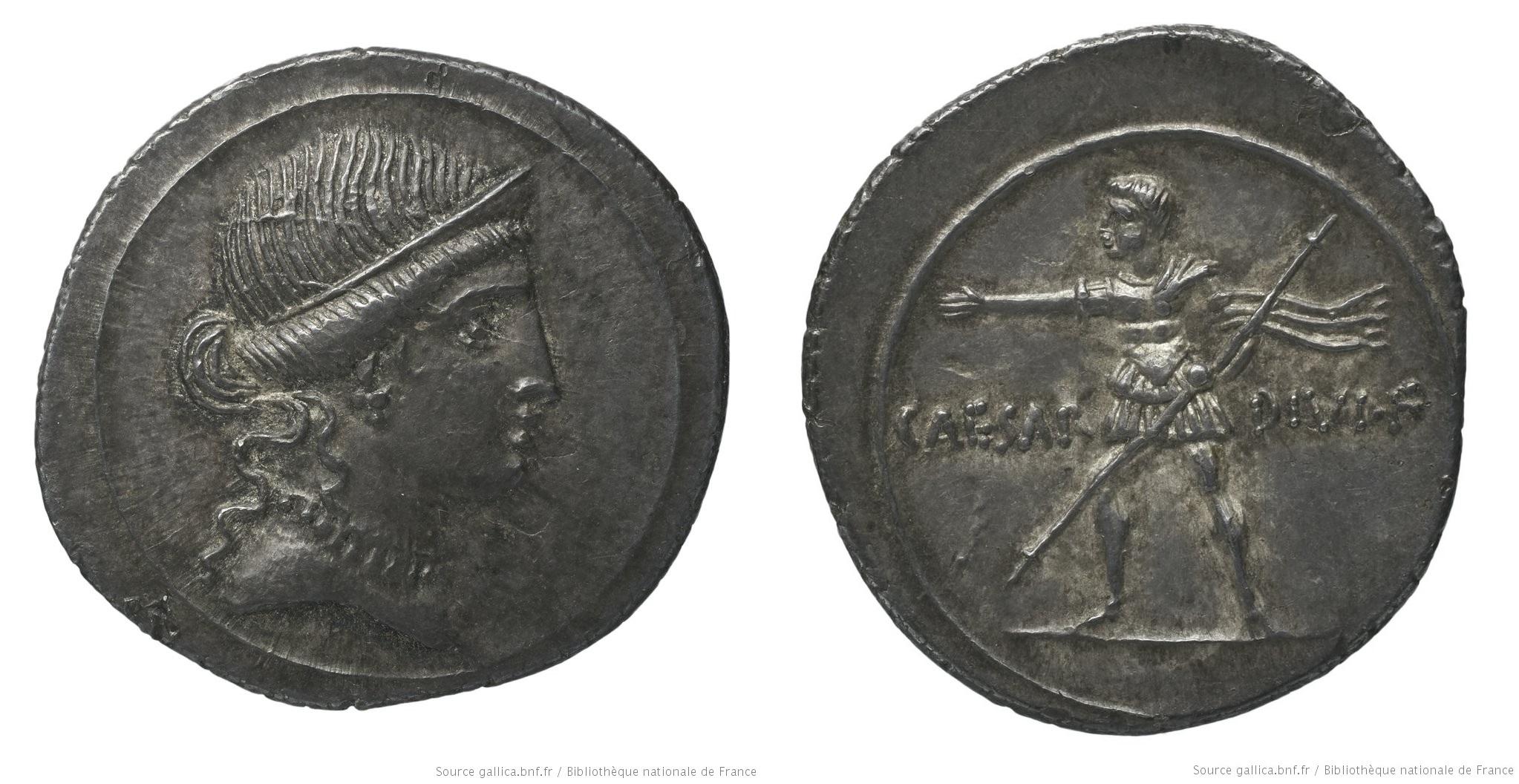 You are currently viewing 2002AU – Denier Octave – Caius Julius Cæsar Octavianus