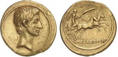 2014AU – Aureus Octave – Caius Julius Cæsar Octavianus