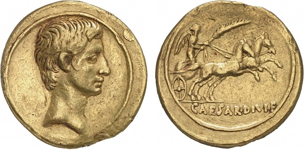 You are currently viewing 2014AU – Aureus Octave – Caius Julius Cæsar Octavianus