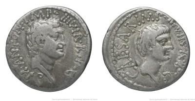 Read more about the article 1807AN – Denier Marc Antoine et Octave – Marcus Antonius