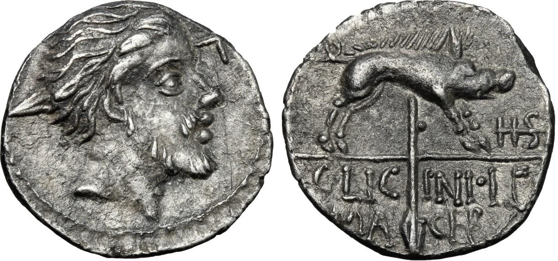 Un sesterce inédit pour Caius Licinius Macer