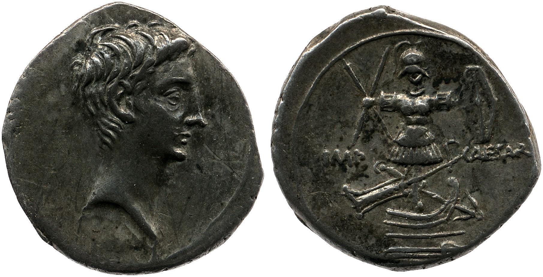You are currently viewing 2018AU – Denier Octave – Caius Julius Cæsar Octavianus