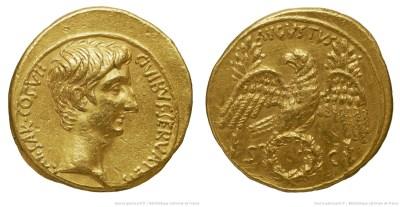 2037AU – Aureus Auguste – Caius Julius Cæsar Augustus
