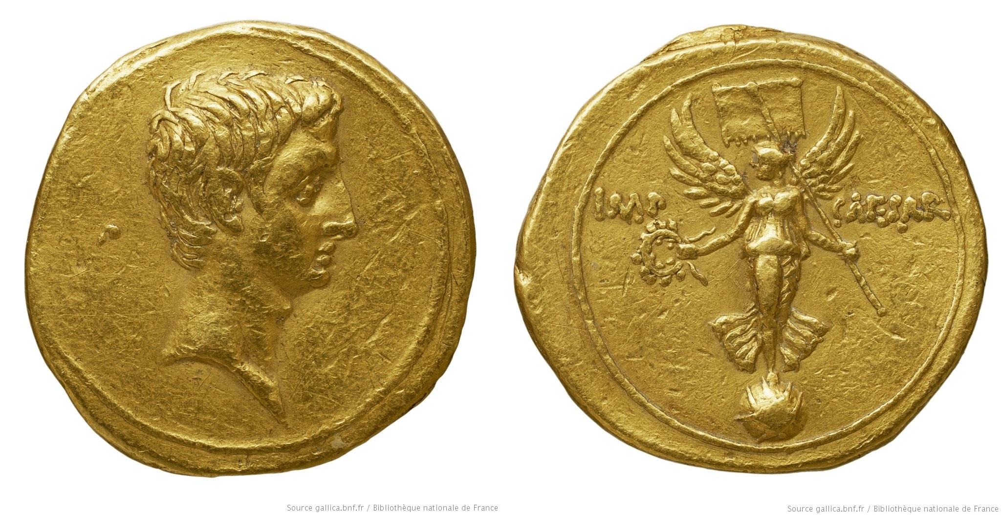 2022AU – Aureus Octave – Caius Julius Cæsar Octavianus
