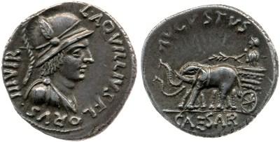 Read more about the article 2058AU – Denier Auguste – L.Aquillius Florus