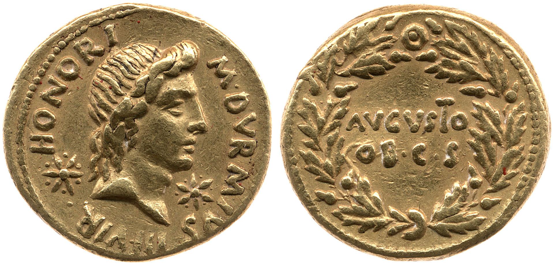 2069AU – Aureus Auguste – M.Durmius