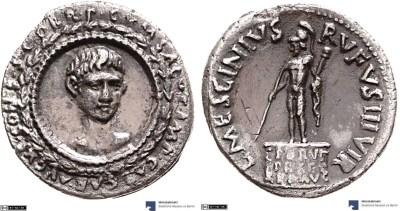 2103AU – Denier Auguste – L. Mescinius Rufus