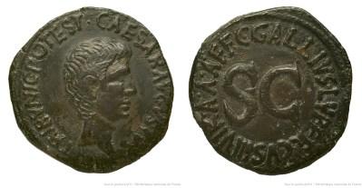 2123AU – As Auguste – C. Gallius Lupercus