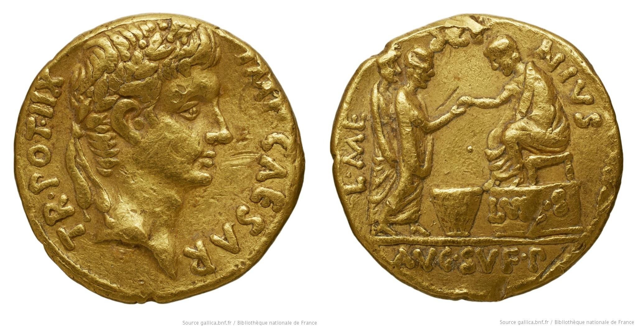 You are currently viewing 2098AU – Aureus Auguste – L. Mescinius Rufus