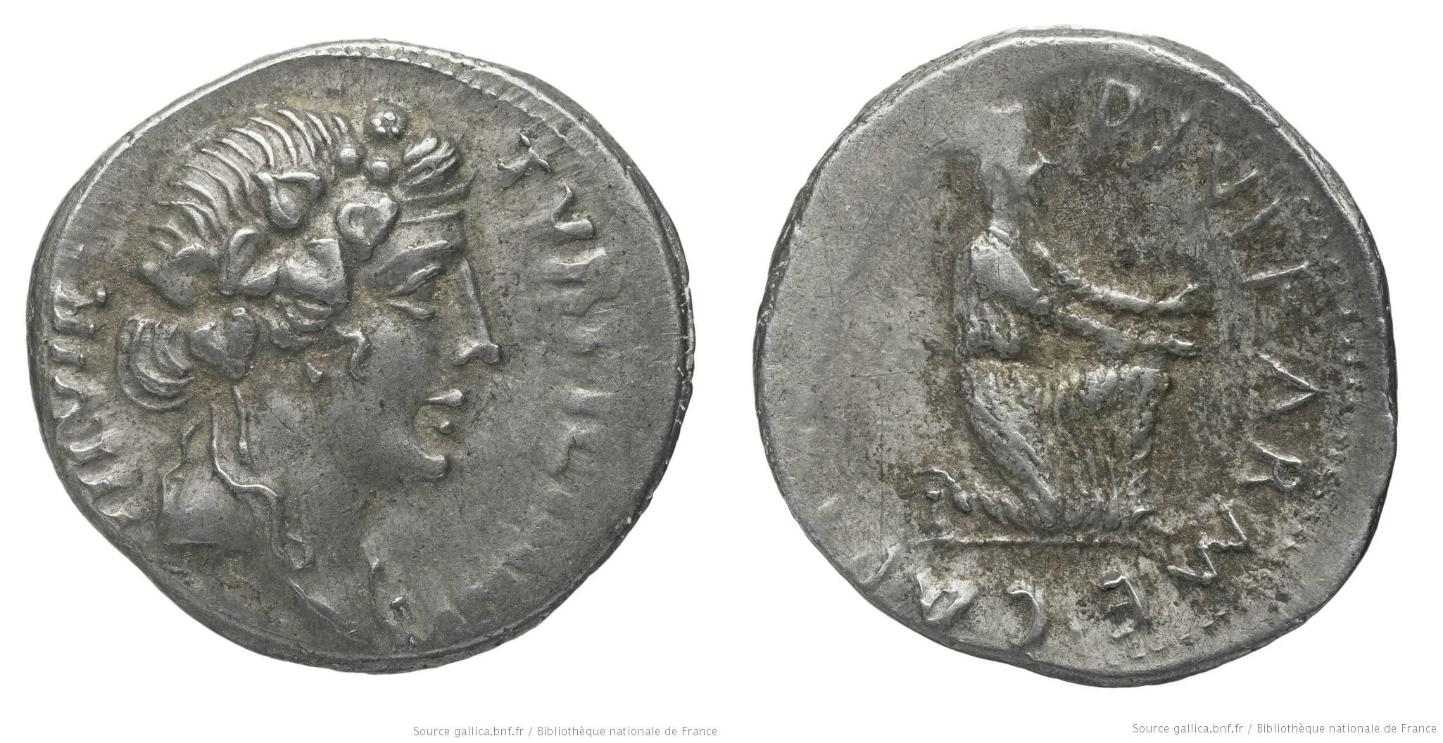 2047AU – Denier Auguste – P.Petronius Turpilianus