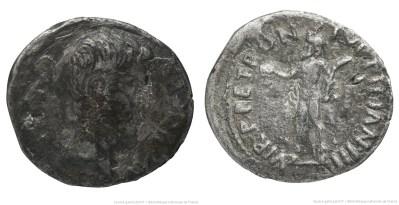 2051AU – Denier Auguste – P.Petronius Turpilianus