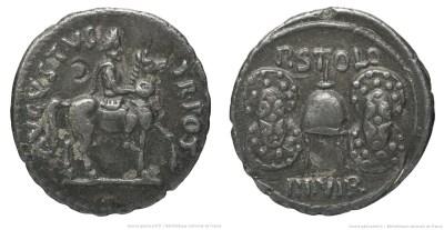 2092AU – Denier Auguste – P.Licinius Stolo