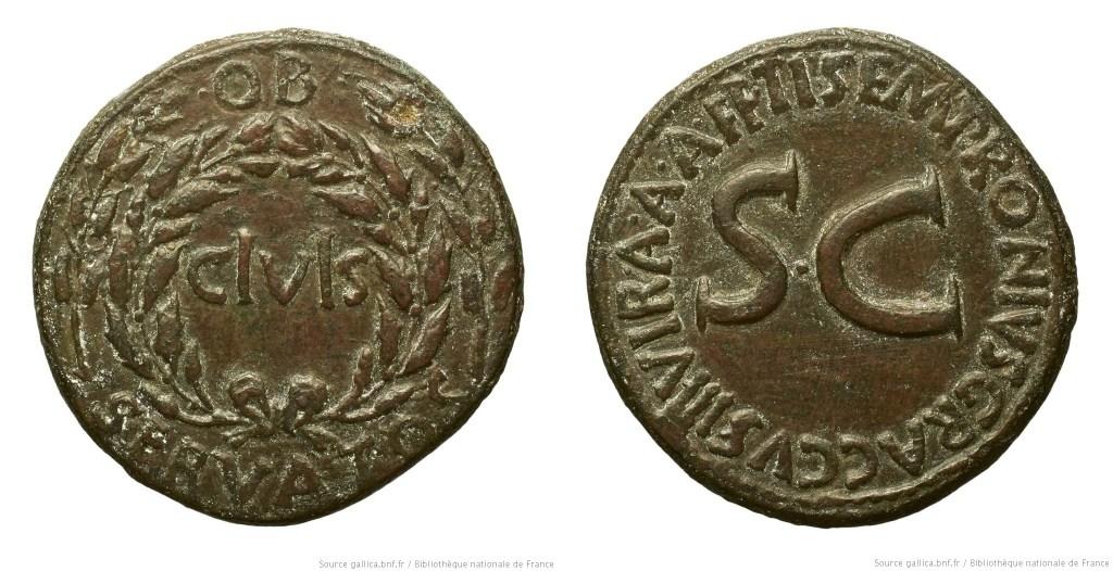 2096AU – Sesterce Auguste – Ti. Sempronius Graccus