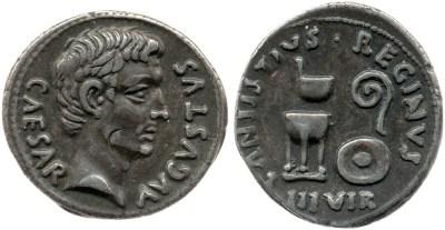 2149AU – Denier Auguste – C. Antistius Reginus