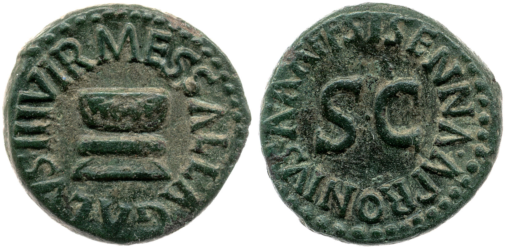 You are currently viewing 2192AU – Quadrans Auguste – Apronius, Galus, Messalla et Sisenna