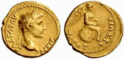 Read more about the article 2275AU – Quinaire d'Or Auguste