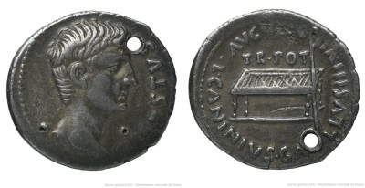 2155AU – Denier Auguste – C. Caninius Gallus