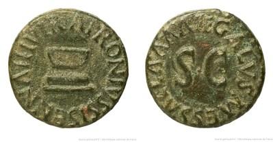 2181AU – Quadrans Auguste – Apronius, Galus, Messalla et Sisenna