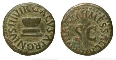 Read more about the article 2183AU – Quadrans Auguste – Apronius, Galus, Messalla et Sisenna