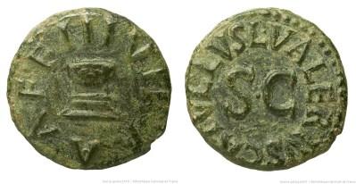 2204AU – Quadrans Auguste – L. Valerius Catullus